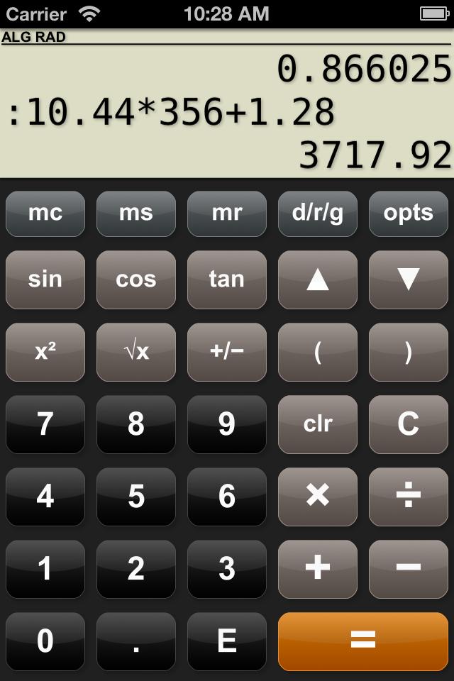 PG Calculator - scientific calculator for iPhone/iPad/iPod ...